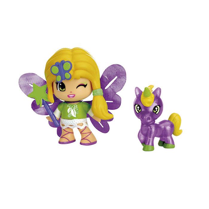 Pinypon figurine fée ou sirène et son animal