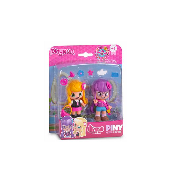 PINY Coffret 2 figurines