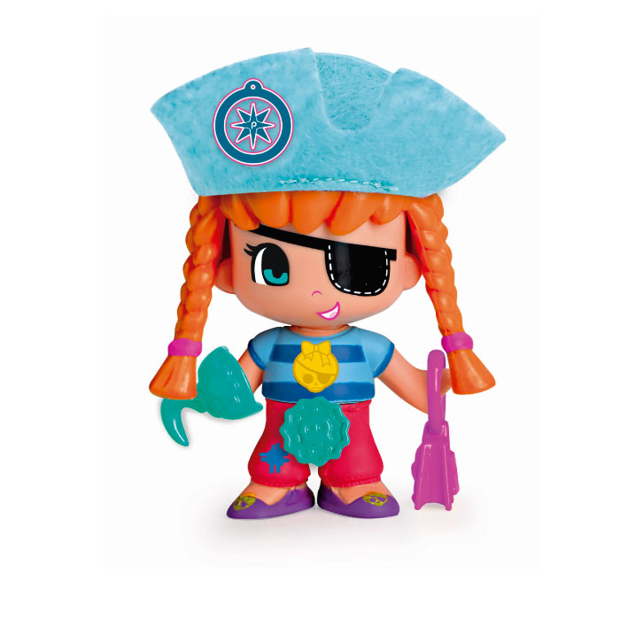 Pinypon Coffret 3 Figurines Pirate et Sirenes