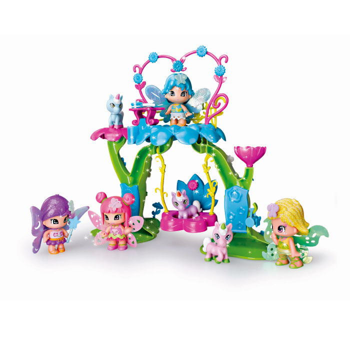 Pinypon Coffret Arbre des Fees + 1 Figurine