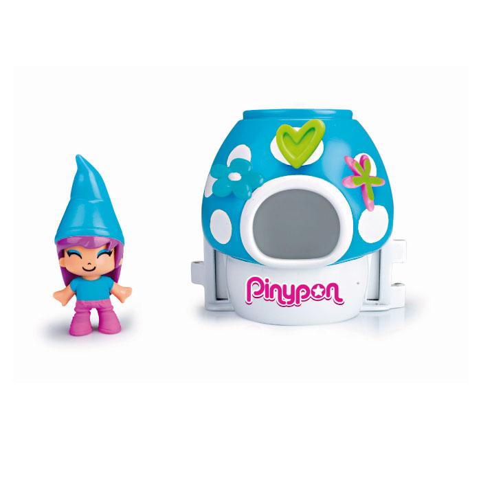 Pinypon Figurine Elf et son Champignon Magique