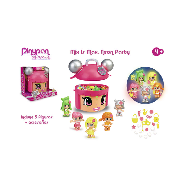PINYPON Mix is Max NEON PARTY