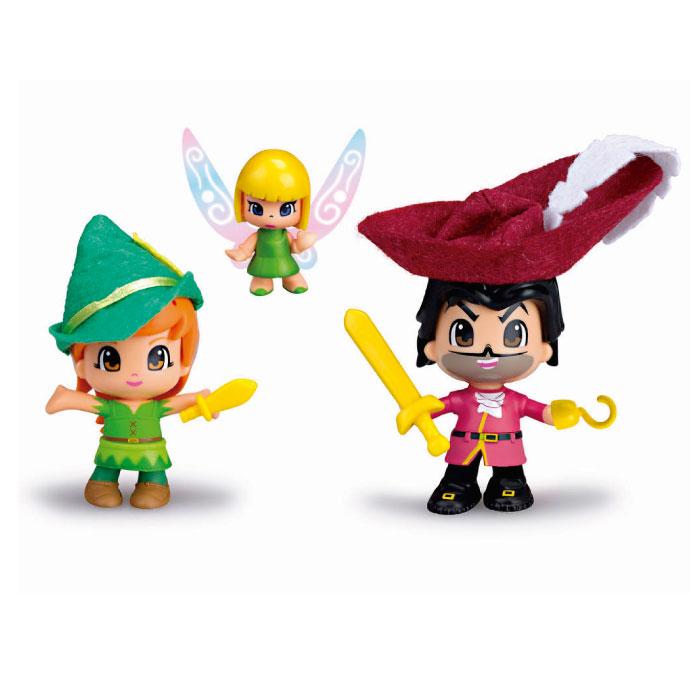 Pinypon Peter Pan, Hook & Tinkerbell Pack