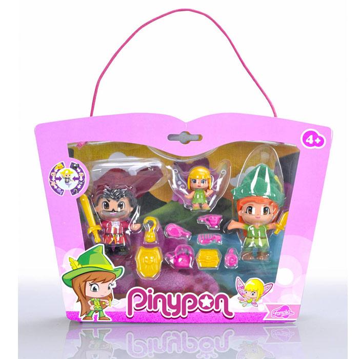 Pinypon Peter Pan, Capitão Gancho e Sininho