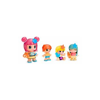 Pinypon Bebés & Figuras. Pack 4 figuras