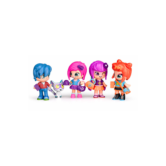 Pinypon by PINY. Pack 4 amigas