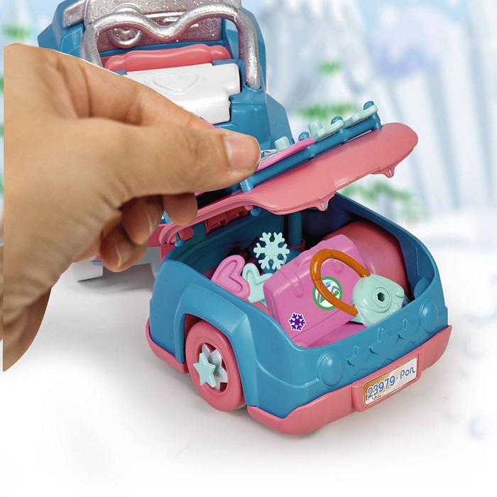 Pinypon. Carro de neve com reboque