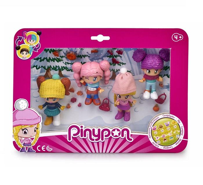 Pinypon. Pack 4 figuras de Neve