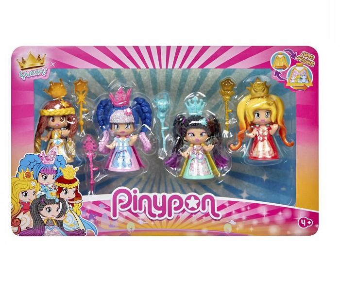 Pinypon. Queens 4 figuras