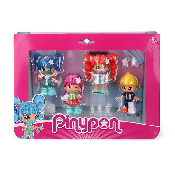 Pinypon.Pack 4 Figuras Hospital