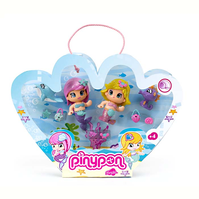 Pinypon Pack Mermaids