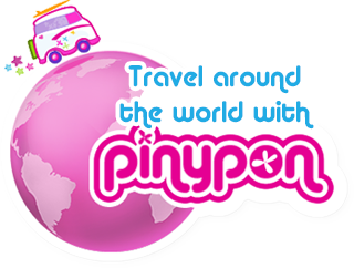 Travel around the world with pinypon