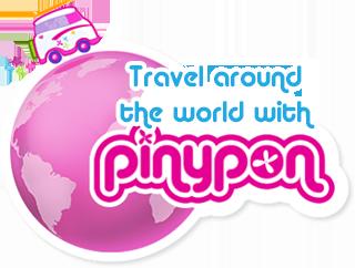 Travel around the world with pinypon