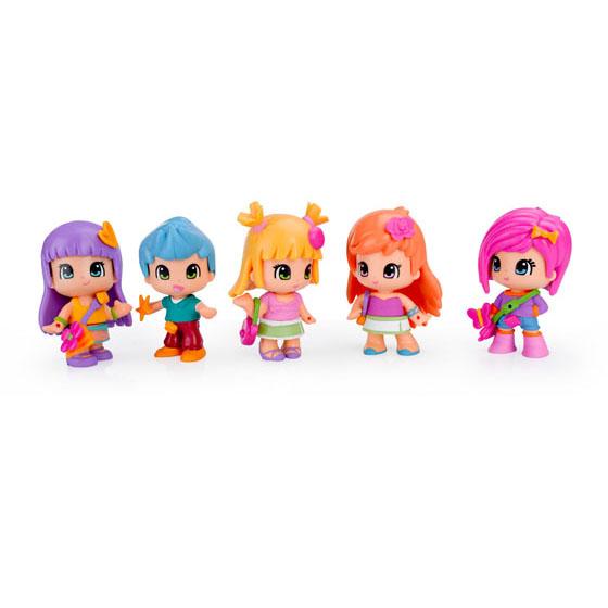 Pinypon Cubo con 5 figuras