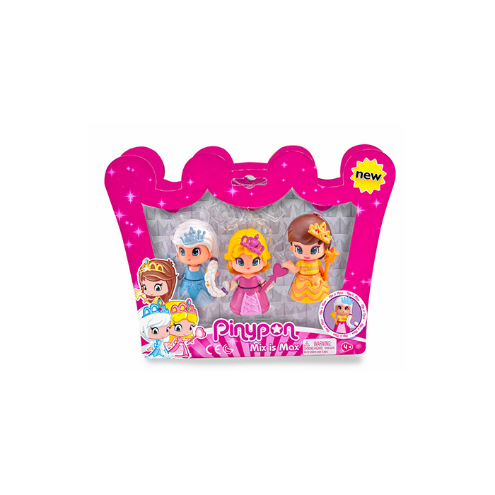 Pinypon Pack 3 princesas