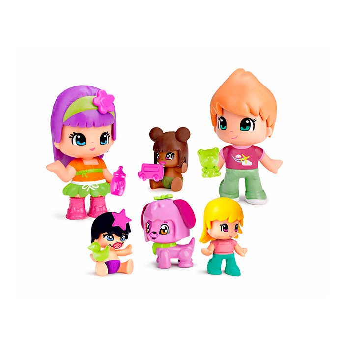 Pinypon  Bebés y Figuras Set 6