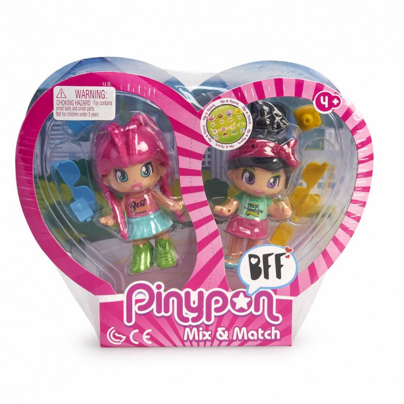Pinypon. Best Friends. 2 figuras