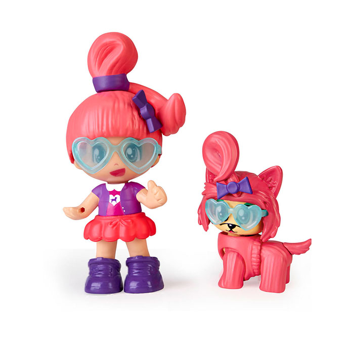 Pinypon. My Puppy and Me. Pack doble figuras